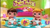 Juegos para niños.Mellizos Bebé Par Terrible Baby Twins - Terrible Two| Lets Play Kids