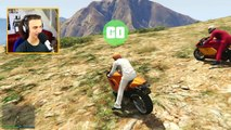 EXTREME SWAMP STUNTING RACE (GTA 5 Funny Moments)