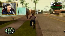 HIT A STUNT IN GTA SAN ANDREAS (GTA Funny Moments)