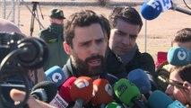 Torrent visita a los líderes soberanistas encarcelados