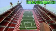 Top 5 Minecraft Xbox 360 Structures - STADIUMS / ARENAS