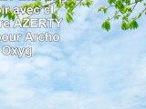 DURAGADGET Etui aspect cuir noir avec clavier intégré AZERTY français pour Archos 101