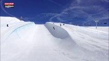 Kevin Rolland : la violente chute du champion de ski (vidéo)
