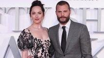 Dakota Johnson Calls Jamie Dornan's Abs 'Rude'
