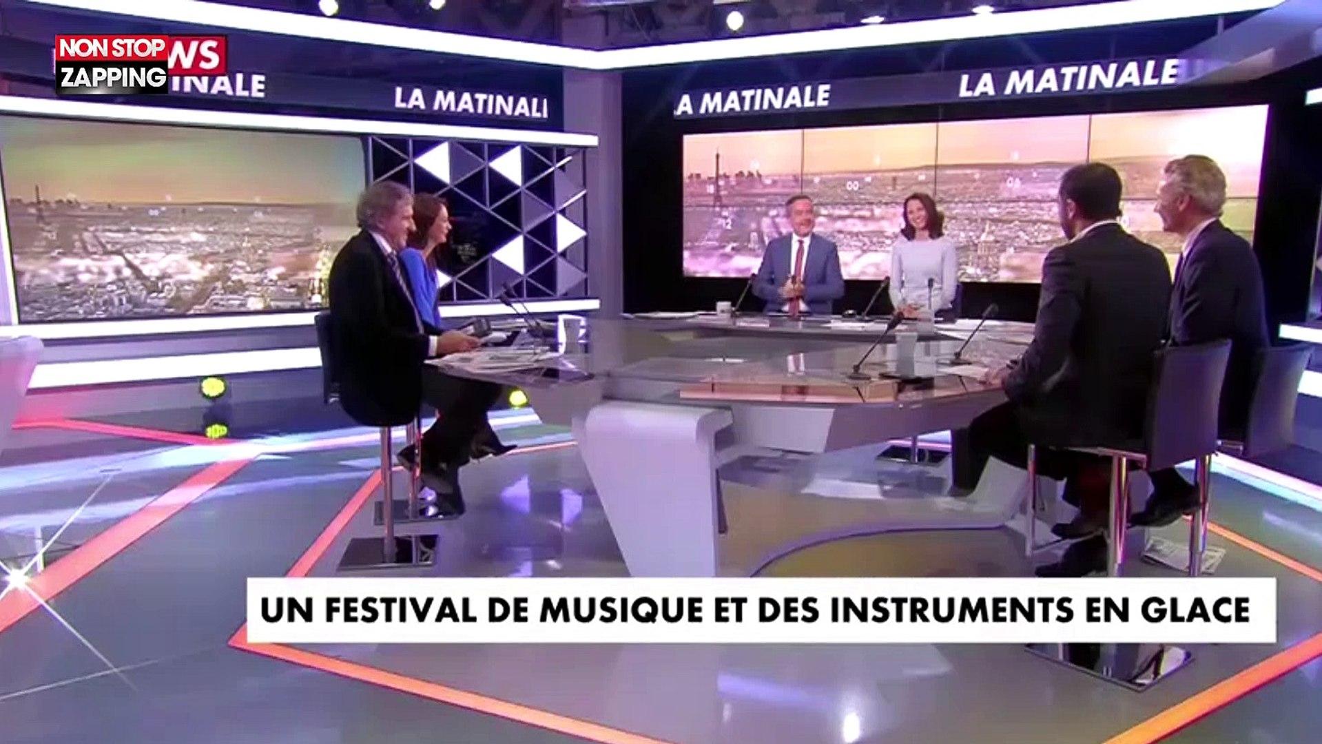 Enorme fou rire sur le plateau de la Matinale sur CNews (vidéo)