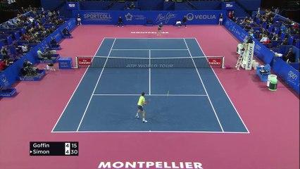 Résumé du match : David Goffin vs Gilles Simon - 07/02/2018