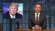 Late-Night Hosts Mock Trump's Military Parade Idea | THR News