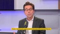 """Corse  : """"J'estime que l'identité corse doit se décliner et s'incarner dans l'unité de la République française, car celle-ci est une et indivisible"""", considère Geoffroy Didier, secrétaire général délégué à la communication des Républicains"""