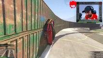 HARDEST WALLRIDE RACE EVER! GTA 5 Funny Moments & Epic Fails w/The Stream Team!! GTA 5 Funny Moments