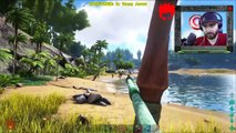 ARK Survival Evolved TOWER OF PAIN   Jurassic Fortress Tour Goes VERY WRONG!!   ARK Funny Moments #6
