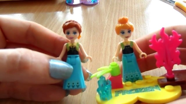 FROZEN personaggi Confronto coi LEGO by Lara e Babou