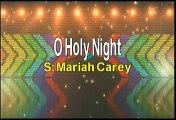 Mariah Carey O Holy Night Karaoke Version