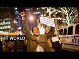 New York protests over Garner ruling