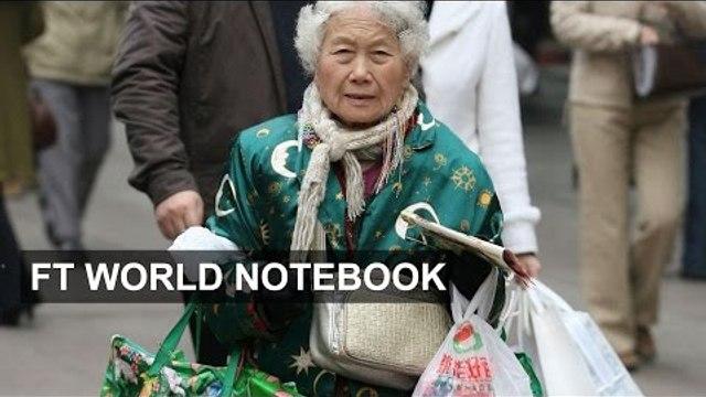 Elder Chinese spending on leisure | FT World Notebook
