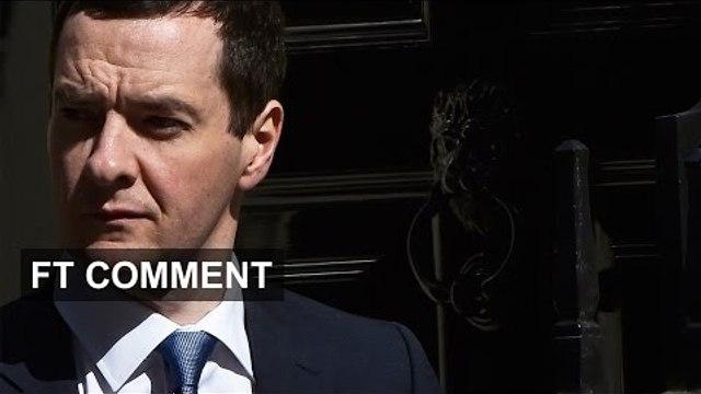 George Osborne - Tactics & Vision | FT Comment
