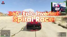 GTA 5 Stunt Races - EPIC SPIRALS AND MOTORBIKES w/Typical