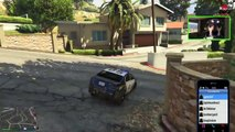 GTA 5 Funny Moments BUSTED Police Chases | Cops and Robbers Mini Game | GTA V Funny Montage PS4