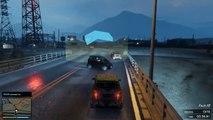 GTA Crazy Races | SMART CARS RACING IN THE RAIN | GTA V Insane Races, Stunts & Traffic