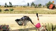 GTA 5 Funny Moments BIKE JUMPS!!! - DownHill Bike Jumps GTA5 - Grand Theft Auto 5 Funny Montage