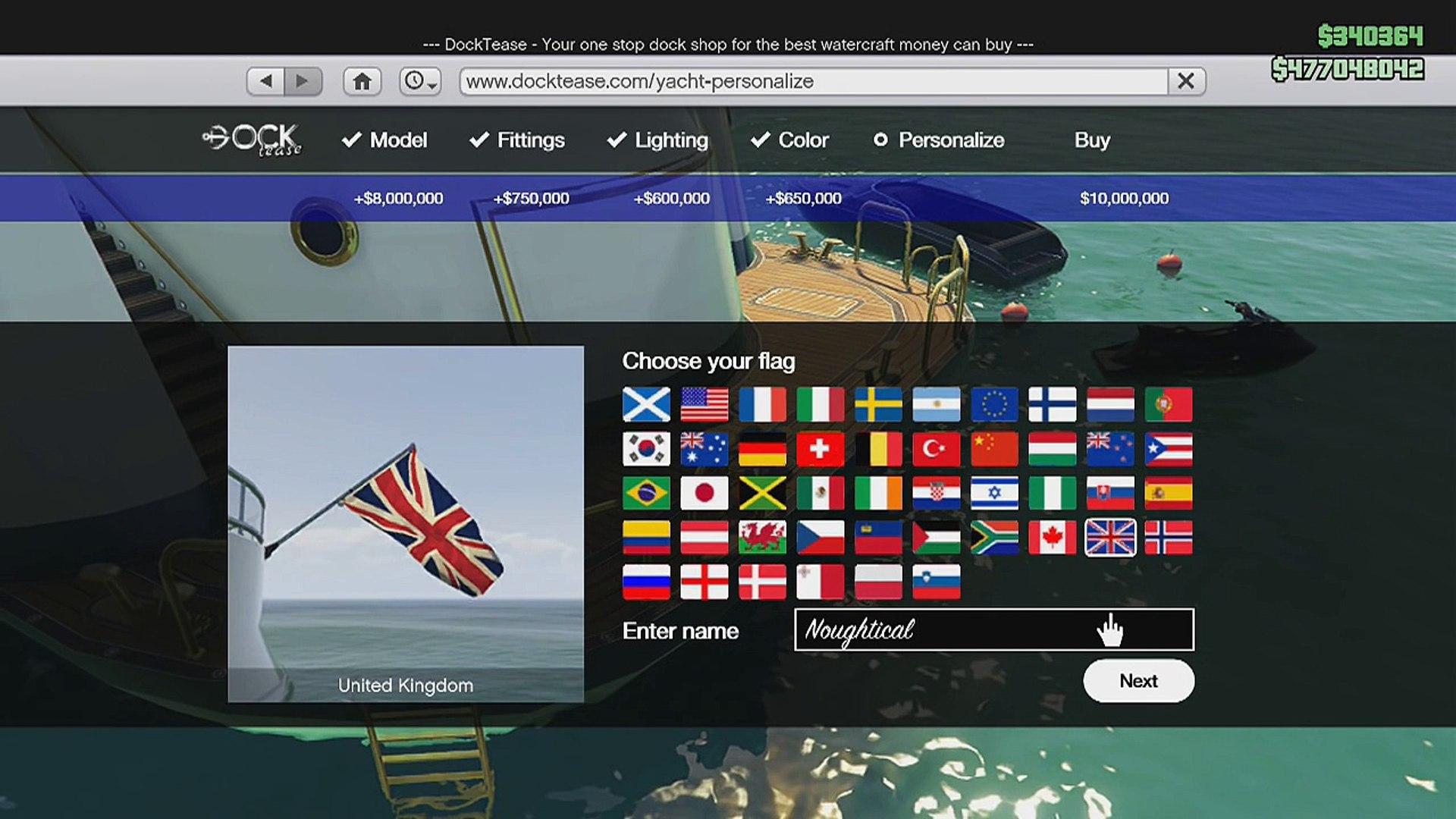 GTA 5 Online - Super Yacht FULL CUSTOMIZED! (GTA 5 $10,000,000 Yacht)