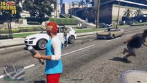 GTA 5 Funny Moments - EPIC Lester Crest Secret in GTA 5 Online Heists! (Lester Kicking Ass)