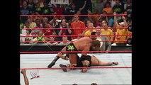 Triple H takes a savage beatdown: Raw, August 7, 2006