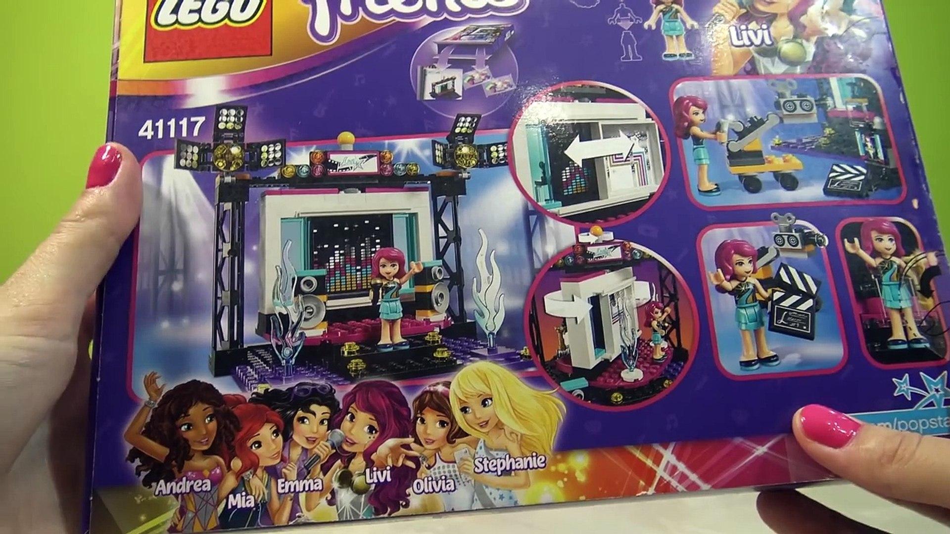 ЛЕГО Френдс Поп-звезда телестудия   LEGO Friends Pop Star TV Studio
