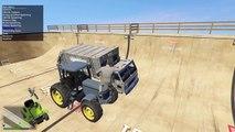 MORE VERTICAL RAMP!! GTA 5 Mods Showcase! (GTA 5 Funny Moments)