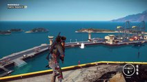 The Just Cause 3 Map!! Just How big is it? (Just Cause 3 Gameplay)