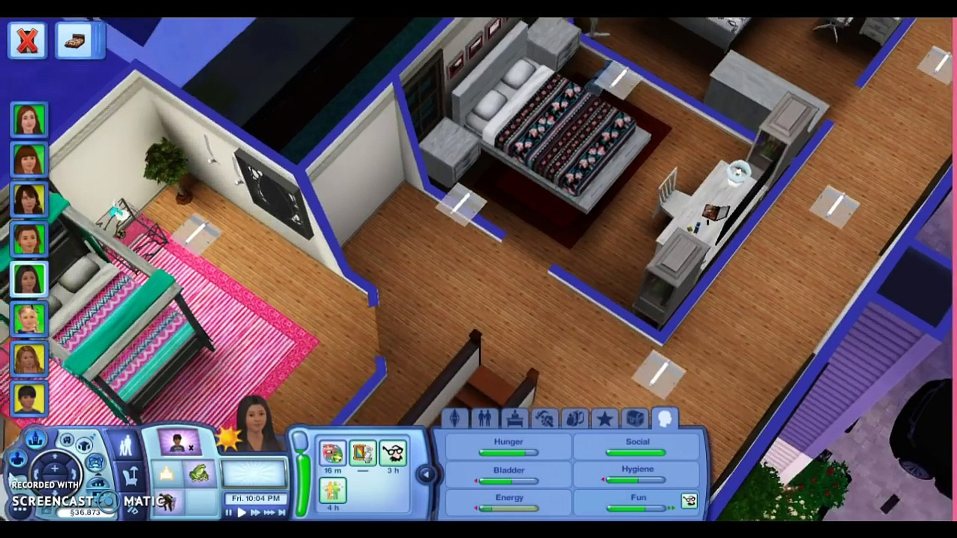 AMERICAN GIRL DOLL SLEEPOVER // American Girl Dolls Living the AG life Sims 3 Lets Play