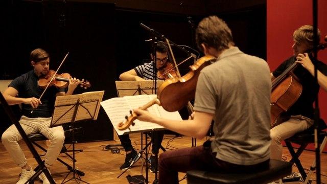 Orava Quartet - Andante cantabile (String Quartet No. 1 in D major, Op. 11)