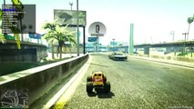 GTA 5 - CE MINI MONSTER TRUCK PEUT-IL SAUTER AU-DESSUS DE 20 TAXIS !?