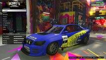 GTA 5 Online - Flashing Neon Wheels Glitch! How To Get Flashing Rims Online (GTA 5 Glitches)