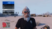 All Gta Christmas Masks.Gta Online Christmas Gifts Masks Snow Clothes Video