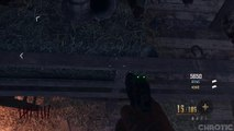 Black Ops 2 Zombies Glitches: New Solo Glitch - Jump onto Railing inside the Barn on Buried