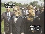 Xuxa, Adriane Galisteu e Família Senna Chegando no Enterro de Ayrton Senna