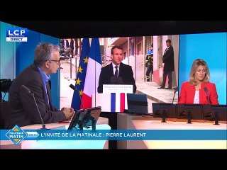 Pierre Laurent sur la Corse avant la visite du Président du 7/02/2018
