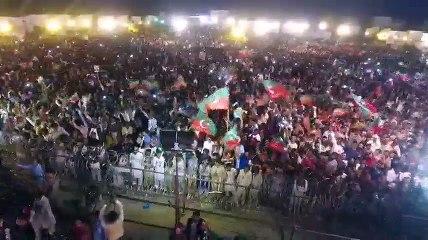 Huge crowd in PTI Lodhran Jalsa | Drone Footage