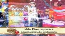 Mafer Perez responde a malos comentarios hechos en redes sociales,Tv espanol movie hd 2018