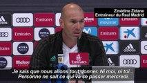 """Real Madrid/PSG: """"Nous connaissons nos forces"""", déclare Zidane"""