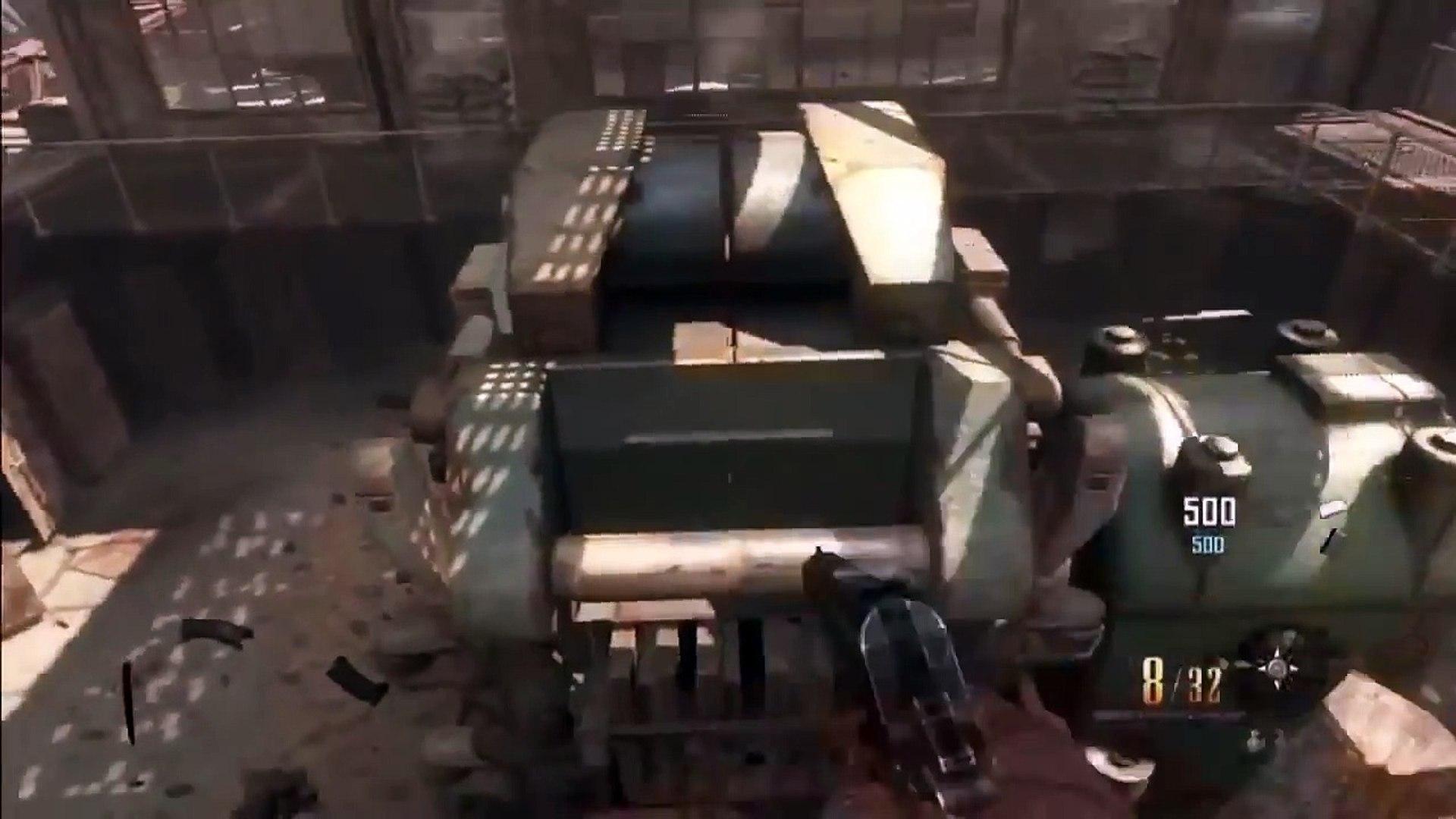 Buried Glitches: Invincible Ledge in Spawn Room on Buried - BO2 Glitches