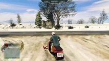 GTA 5 PC Mods  - Snowmobile & Sparrow Helicopter MOD Gameplay! - GTA 5 PC Mods Gameplay - GTA V Mods