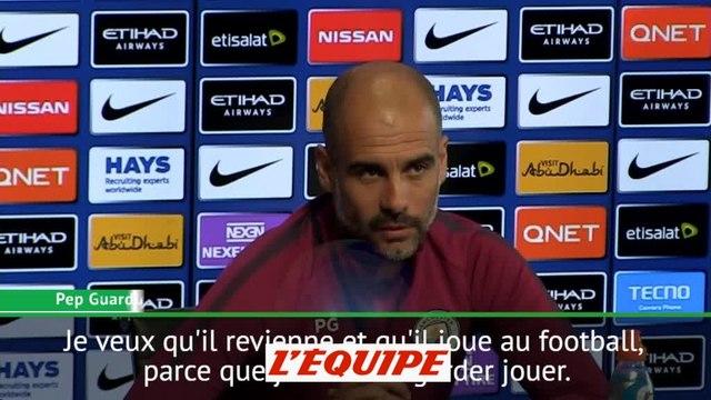 Foot - ANG - City : Guardiola «Je veux que Mahrez revienne»