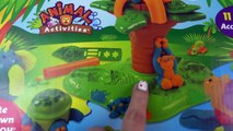 MLP Playdoh Jungle Pets Animals My Little Pony Fashems Twilight Fluttershy Safari Playset Video