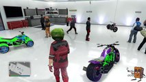 NEW GTA 5 - Dope Epic Garage Showcase with Almost All The New Motorcycles!!! (GTA 5 BIKER DLC)