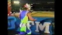 Battle Ranger Z/TAKA Michinoku/Great Sasuke vs Gran Naniwa/Jinsei Shinzaki/Super Delfin (FMW August 22nd, 1993)