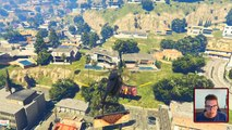 Je saute de la Tour Eiffel dans une piscine sur GTA 5 !