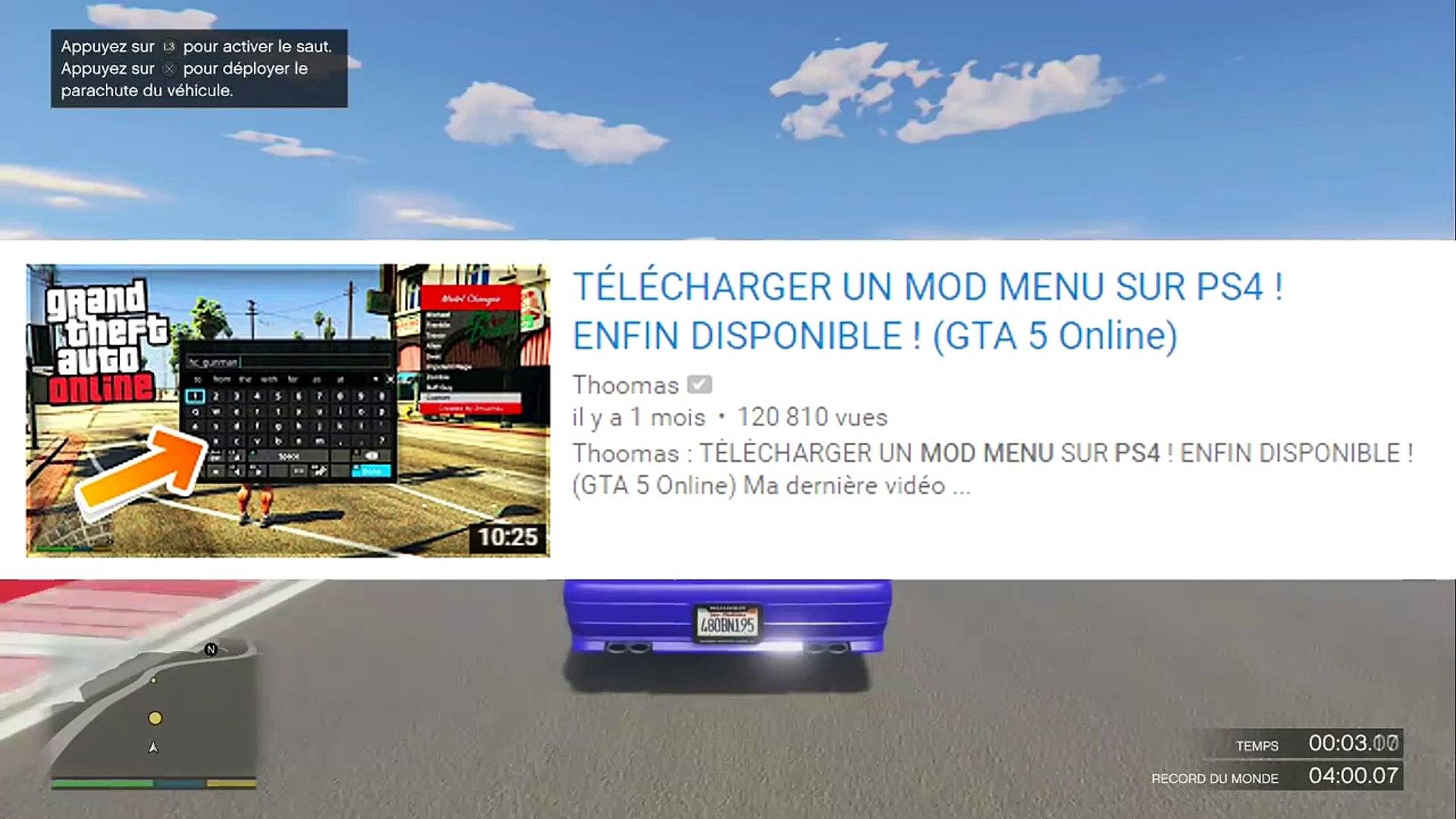 MOD MENU SUR PS4 - ROCKSTAR RÉAGIT ! (GTA 5 Online)