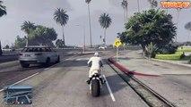 FAIRE DES ATTAQUES AU CORPS À CORPS SUR UNE MOTO ! (GTA 5 Online)