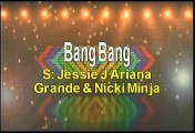 Jessie J Ariana Grande and Nicki Minaj Bang Bang Karaoke Version